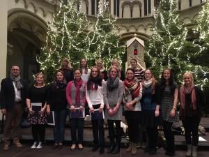 """""""Junger Chor"""" Weihnachten 2017"""